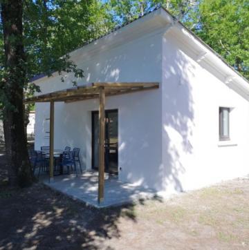 Réalisation bungalow sur mesure en béton.