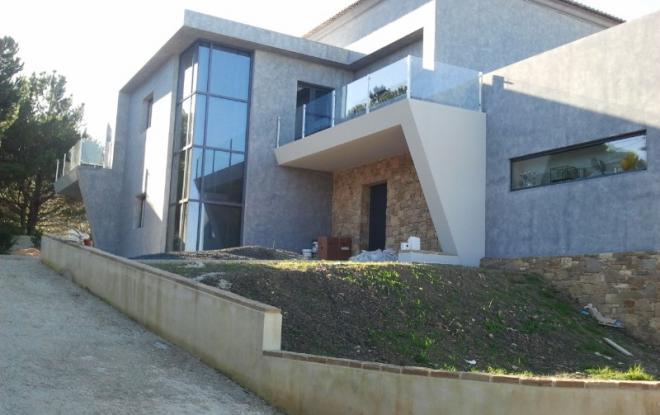 construction villa moderne passive   sur mesure SISMO by IBS